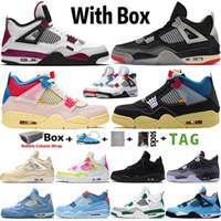202 With Box New Arrival Top Quality 4 4s High OG Jumpman hommes femmes chaussures de basket-ball Designer sport baskets grande taille 13 Vente chaude de haute qualité