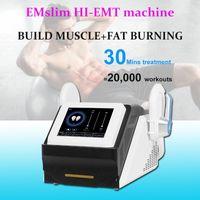Novas Chegadas Músculo Máquina de Construção Não-invasivo Forma Forma Muscle Emslim Beleza Slim Em Body Fat Burning Machine DHL Frete Grátis