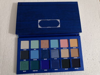 Новейший бренд 14 Цветов Eye Shadow Palette Riviera Teeshadow Shimmer Matte Beauty Makeup Teeshadow Палитры с кистью