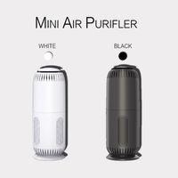 Mini Taşınabilir Kişisel Hava Temizleyici Ev Ofis Masaüstü Araba Ile Aktif Karbon HEPA Filtresi Mini USB Air Purifierm9