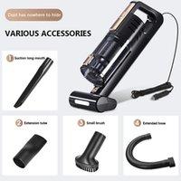 진공 청소기 자동차 휴대용 핸드 헬드 자동 강력한 전력 로봇 120W 인테리어 홈 컴퓨터 클리닝 1