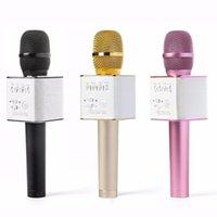 Magic Q9 Bluetooth drahtloses Mikrofon Handheld Microfono KTV mit Lautsprecher Mic Lautsprecher Karaoke Q7 Upgrade für
