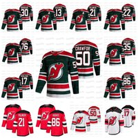 Youth Corey Crawford New Jersey Devils 2021 Обратный ретро Джерси Джек Хьюз Гусев П.К. Subban Hayden Hischier Schneider Palmieri Greene