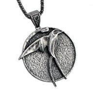 Collane del pendente La collana della rondine del mago per Geralt con un demone con 3 monili periferici TV figura11