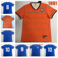 Cruz Azul 1973-1974 Retro Soccer Jerseys Home Blue Classic 1997 Vintage Classic Football Hemd Top Qualität