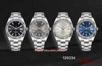 4 Stil Beste Qualität AR MACHER 904 Stahl 40mm 116334 Datejust Präsident Swiss Cal.3255 Uhrwerk Mechanische Automatische Herrenuhr Uhren