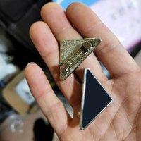 Nova Chegada Metal Triângulo Cabelo Clipe Mulheres Triângulo Carta Barrettes Para Presente Partido Moda Acessórios De Cabelo Preço Atacado