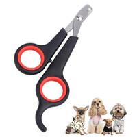 Hunde-Nagel-Clippers Katzenklaue-Haustier Nailklipper Liefert Edelstahl Pet Nails Klatschentrimmer Grooming Schere Cutter Zyy118