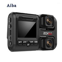 Cámaras traseras Cámaras Sensores de estacionamiento Aiba J07 Dash Cam 2160P WiFi Dual Lens Sony IMX323 DVR NOVATEK 96663 Sensor de viruta Visión nocturna 24h 170