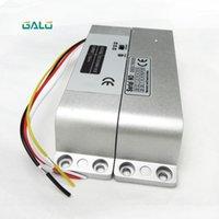 Controle de acesso de impressão digital 800kg 1800lbs 4 linha bloqueio elétrico de parafuso elétrico com detecção de estado de porta Ponto de saída e temporizador queda de falha de falha elétrica1
