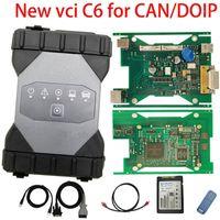 ميغابايت ستار C6 مع الكمبيوتر المحمول CF-19 دعم DOIP / CAN VCI أداة تشخيص أداة من MB Star C4 SD Connect جاهز للعمل C3 / 4 Programmer1