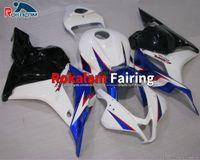 For Honda CBR600RR F5 2009 2010 2011 2012 CBR 600RR 600 RR Motorcycle Fairings Kits 09 10 11 12 Blue White (Injection Molding)