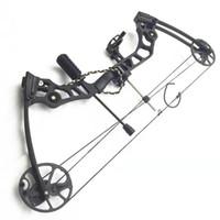 X8 Spor Yay 25-50 Pound Yay için Balık Için Hunt için Pound Ayarlanabilir 200m Ateş Boş Alaşım Alüminyum Ok Hunt Balık Açık