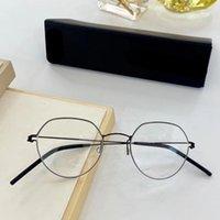 Moda Güneş Gözlüğü Çerçeveleri El Yapımı Vida-Az Titanyum Optik Gözlük Erkek Kadın Retro Yuvarlak Reçete Gözlükler Danimarka Marka Miyopi E