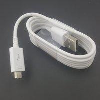قسط الأصلي A ++++ شاحن كابل 1M شحن سريع نوع C V8 مايكرو USB الحبل لسامسونج S7 S8 S10 هواوي كابل الهاتف الروبوت