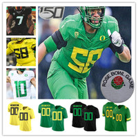 2021 Kolej Oregon Ördekler Jersey Futbol Justin Herbert Tyler Shough Jay Butterfield CJ Verdell Johnny Johnson III McKinley III Flowe Funa