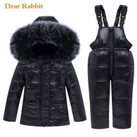 Novo inverno bebê menino menina conjunto de roupas aquecidas jaqueta jaqueta cute snowsuit crianças parka crianças roupa de esqui macacão sobretudo 20127