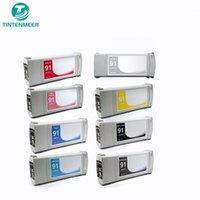Tintenmeer 91 Cartuccia d'inchiostro 8 Set di colori Compatibile per Designjet Z6100 DesignJet Z6100PS Printer1