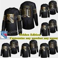 2019 New York Rangers Golden Edition 10 Artemi Panarin 24 Kaapo Kakko 30 Henrik Lundqvist настроить любой номер любое имя хоккейные изделия