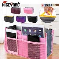Niceyard Travel Organizer Cosmetic Bag Bolsa de almacenamiento plegable Almacenamiento de hogar Portátil Belleza Bolso Total de mujer