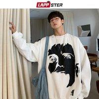 Hoodies masculino moletons Lappster homens grandes streetwear japoneses 2021 homem de outono harajuku coreano cópia engraçada capuz hoodie hoodie hoodie1