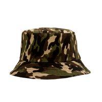 Camuflagem chapéu para homens ao ar livre caminhadas chapéu de pesca verão respirável sol bloco grande borda camuflagem para homens balde