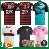 19 20 Flamengo Home Jersey 2019 2020 Flemish Sports Football Camisa