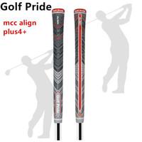 2021 Novo cinza / vermelho Golf Grips MCC Align Plus4 + Multicompound Standard Tamanho / Misturização Esporte ao ar livre