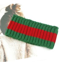 Bandeau élastique design pour femmes et hommes Meilleure qualité Brand Rouge Rayé Bandes Cheveux Tête Foulard pour enfants Headps Cadeaux