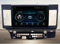Giocatore Android 9.1 DVD auto per Mitsubishi Lancer 10.1 pollici 2008 -2021 Stereo Navigaton 1024 * 600 Quad Core WiFi OBD DVR SWC1