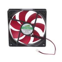 مروحة المراوح مروحة للكمبيوتر 120 ملليمتر DC12V 0.2A 2.5 2pin خادم العاكس حالة محوري برودة الصناعية