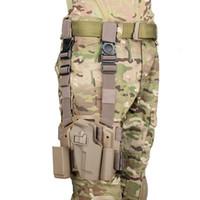 Nuovo arrivo Tactical 92/95 Holster Pistol Pistol Holster della fondina della gamba polimerica con piattaforma Spedizione gratuita CL7-0005