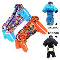 Combinaison pour chiens hiver vêtements de chien réfléchissant toison doux rembourré petit manteau de chien chihuahua yorkie estomac couvert complet Q1206