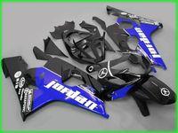 Moule d'injection de 1000% sur mesure Black Blue AD52 Kit de carénage pour 2004 2005 Suzuki GSXR 600 750 K4 GSXR600 GSXR750 04 05 GSX R750 Coroins de carénage