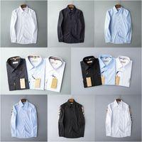 Chemise de marque Mens Chemise de marque Français Paris Marque Vêtements 012 Hommes Chemise à manches longues Chemise Hip Hop Style de haute qualité Coton 2020 Nouvelle arrivée