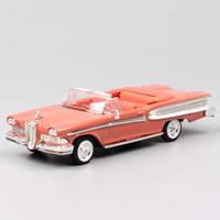 1/43 escalas marca clássico ford 1958 edsel citação conversível Pacer Automóvel Thumbnails Hobby Diecast Carros modelo Veículos Toy Z1202