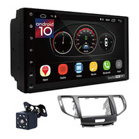 "Ugar EX10 7 ""Android 10 DSP Car Stereo Radio Plus 11-062 Fascia Kit متوافق مع Honda Accord 2007-2012 / Acura TSX 2008-2012"