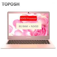 Laptops moda rose ouro n3450 8g ram ssd notebook 14 polegadas mini pc computador portátil portátil negócios escritório laptop slim estudante netbook1