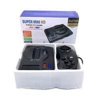 MD SG816 Super Retro Mini TV Console Console ل Sega Mega Drive MD 16 بت 8bit 600 Plus الكلاسيكية الرجعية المدمج في الألعاب مع 2 gamepads