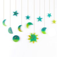 Moules de silicone DIY STAR STAR Forme Soleil Moules faite main Craft Pendentif Moule Facile Démoulant Fashution Sale chaude 2 5HJ G2