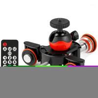 Tripod Heads Camera Video Pista de video Dolly Motorizado Motor de control de control eléctrico para Nikon Canon DSLR DV Película Vlogging Gear1