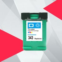 Cartucce d'inchiostro Colore 338xL 343XL Sostituzione della cartuccia rigenerata per 338 343 Deskjet 5740 6520 6540 6840 Posmart 8150