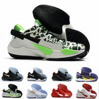 2020 Zooms Freak 2ep Giannis Antetokounmpo GA 2 2S نوبل أحمر الكل بروس توقيع كرة السلة أحذية GA2 رجالي الرياضة رياضة des chaussures