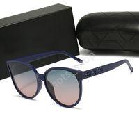 선글라스 Carvan 모델 최고 품질의 진짜 UV400 남자를위한 유리 렌즈 여성 음영 태양 안경 모든 패키지, 액세서리, 모든 것 W20
