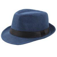 Semplicità Cappello da sole Hedhing Hemming King Paglia Copricapo Jazz Fashion Donna Man Sunscreen Cap Outdoor Estate Nuovo Arrivo 4 8xy K2