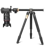 삼각대 Q999H 수평 암 전문 카메라 삼각대 휴대용 여행 스탠드 캐논 Nikon 소니 DSLR DV