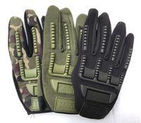 새로운 육군 야외 전술 장갑 전체 손가락 스포츠 하이킹 캠핑 사이클링 남자 장갑 안티 스키드 보호