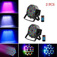Brand new 36W 36-LED RGB Remote / Auto / Sound Control DMX512 High Brightness Mini DJ Bar Party Stage Lamp wit *4 Dimmable Par Lights