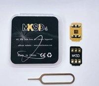 UNLOCKING CARD 5G MKSD4 TURBO RSIM iOS15.x 3m Lim Lim Lås upp SIM iPhone Auto Pop-up för IP6,7,8, X, 11,12,13 Gevey