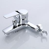 Robinets d'évier de salle de bain Douche lavabo de lavabo et lavabo à eau froide